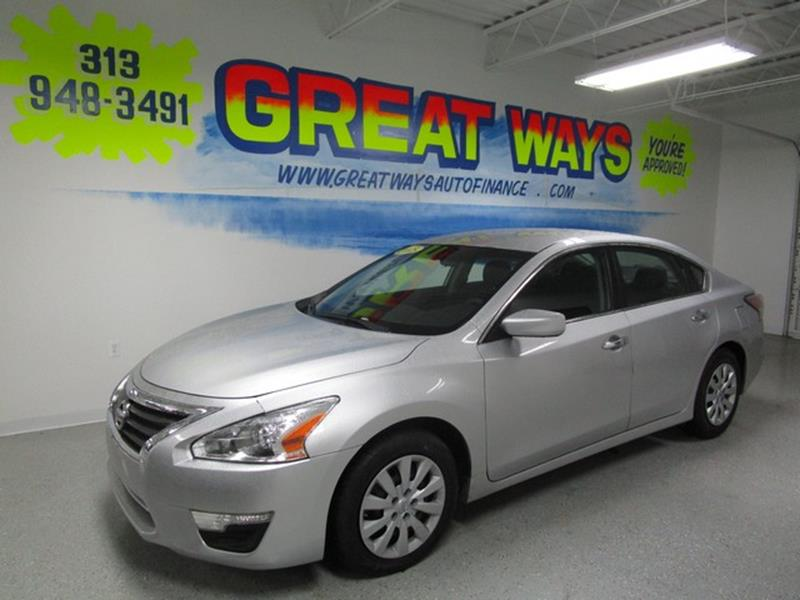 Detroit Used Car for Sale 2015 Nissan Altima 48239 at US Auto Sales ...