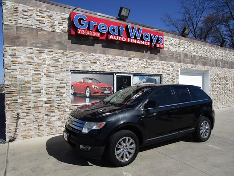 Ford Edge Awd Limited Dr Crossover Redford Mi