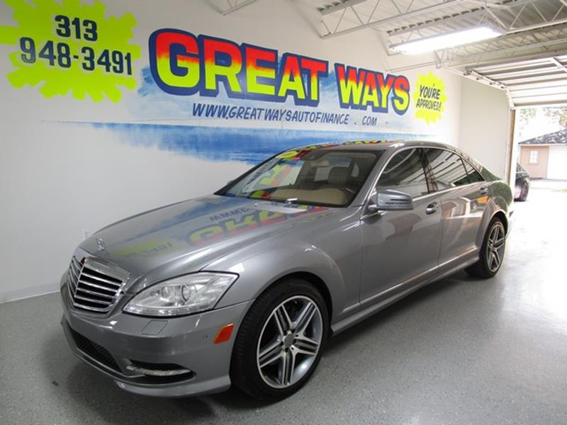 2010 Mercedes-Benz S-class car for sale in Detroit