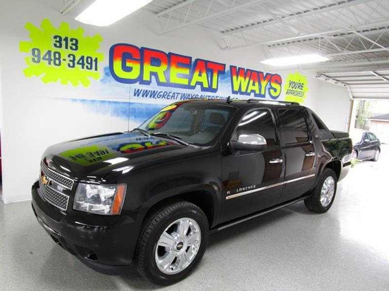 2009 Chevrolet Avalanche car for sale in Detroit