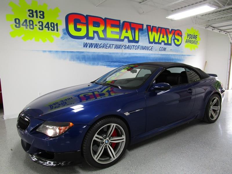 2007 Bmw M6 car for sale in Detroit
