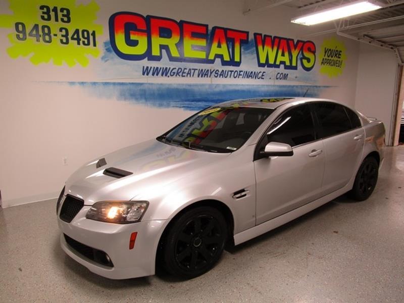 2009 Pontiac G8 car for sale in Detroit