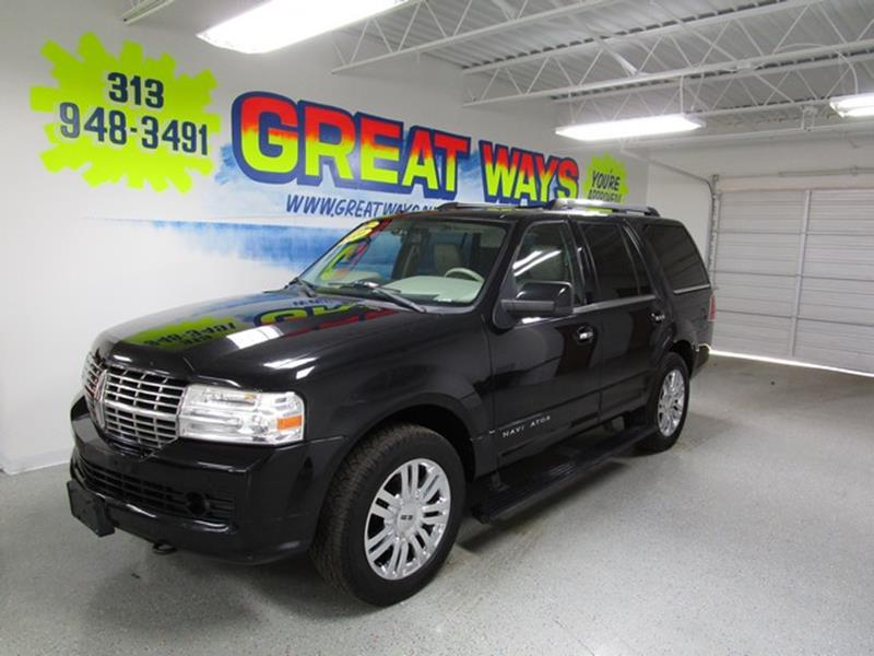 2010 Lincoln Navigator car for sale in Detroit
