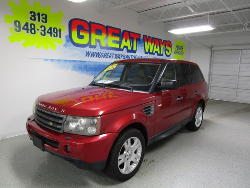 2009 Land Rover Range Rover Sport car for sale in Detroit