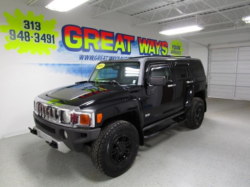 2008 Hummer H3 car for sale in Detroit