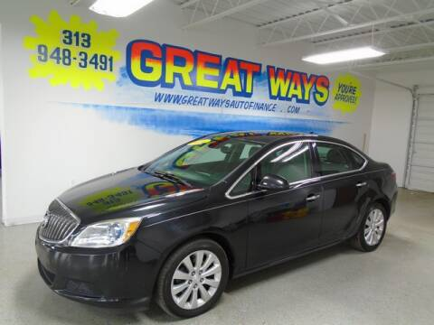 2014 Buick Verano for sale at Great Ways Auto Finance in Redford MI