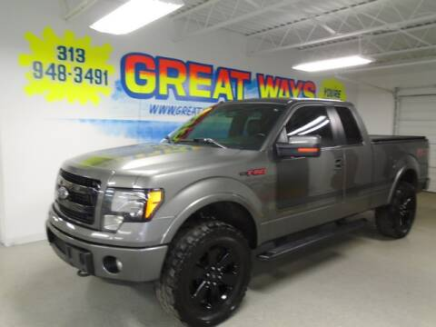 2013 Ford F-150 for sale at Great Ways Auto Finance in Redford MI