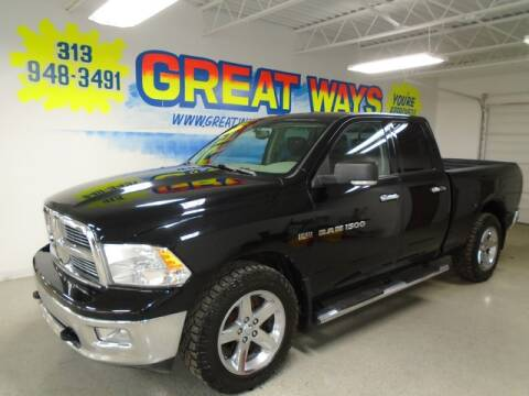 2012 RAM Ram Pickup 1500 for sale at Great Ways Auto Finance in Redford MI