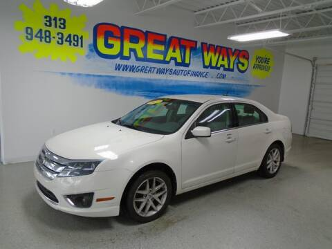 2012 Ford Fusion for sale at Great Ways Auto Finance in Redford MI