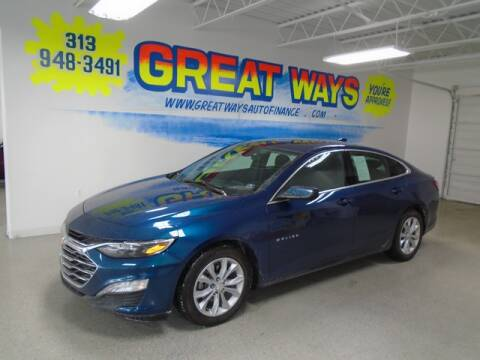 2019 Chevrolet Malibu for sale at Great Ways Auto Finance in Redford MI