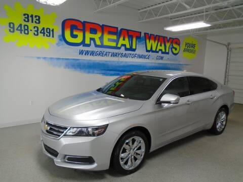 2017 Chevrolet Impala for sale at Great Ways Auto Finance in Redford MI