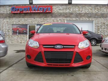 2013 Ford Focus for sale in Redford, MI