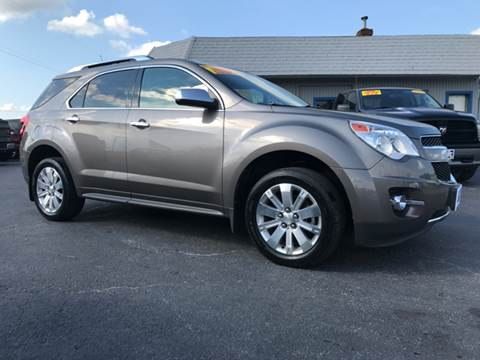 2010 Chevrolet Equinox for sale in Lowell, IN
