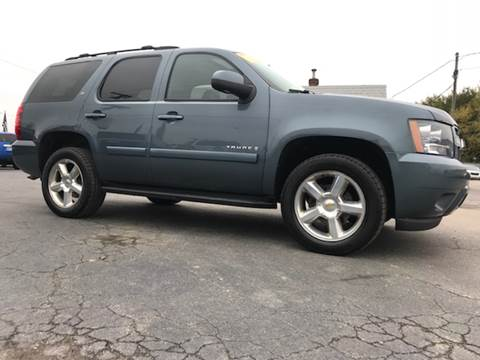 2008 Chevrolet Tahoe for sale in Lowell, IN
