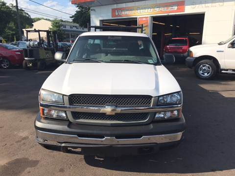 2004 Chevrolet Silverado 1500 for sale at Vuolo Auto Sales in North Haven CT