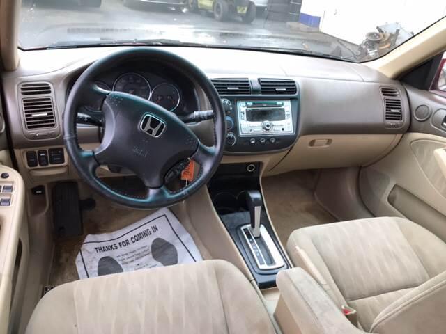 2005 honda civic ex special edition 4dr sedan in virginia beach va.