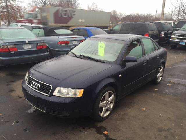 2004 Audi A4 for sale at Vuolo Auto Sales in North Haven CT