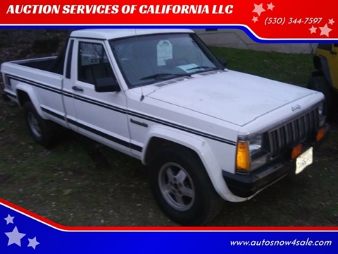 1988 Jeep Comanche for sale in El Dorado, CA