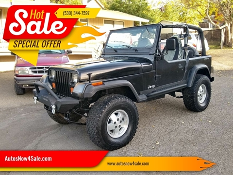 1993 Jeep Wrangler for sale in El Dorado, CA