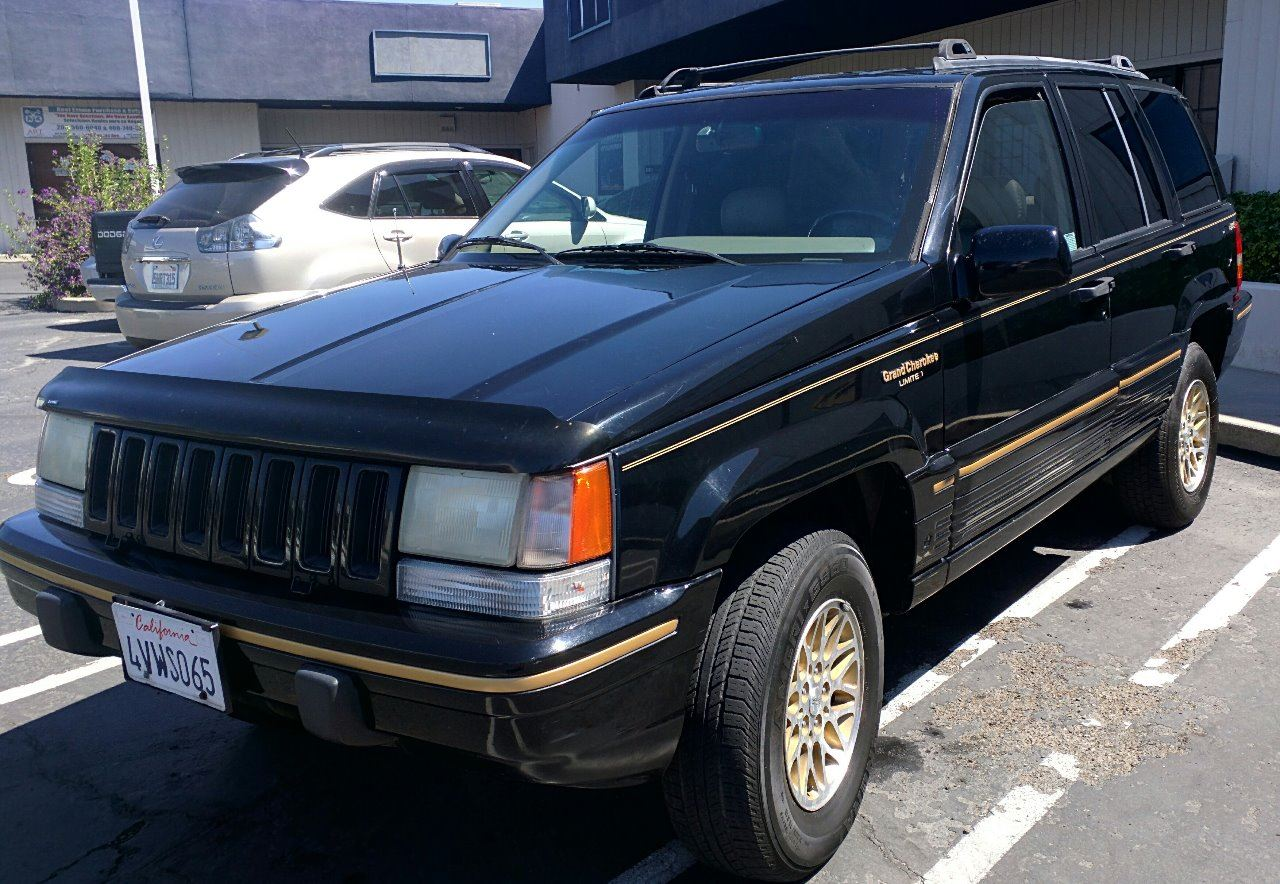 1995 jeep grand cherokee 4dr limited 4wd suv in diamond springs ca diamond springs auto sales. Black Bedroom Furniture Sets. Home Design Ideas