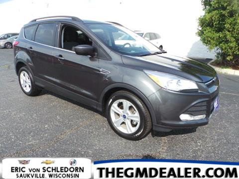 2016 Ford Escape for sale in Saukville, WI