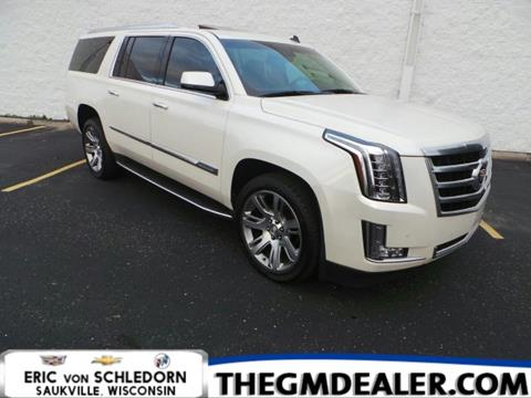 2015 Cadillac Escalade ESV for sale in Saukville, WI