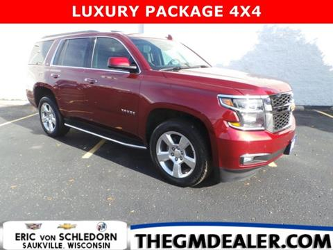 2016 Chevrolet Tahoe for sale in Saukville, WI