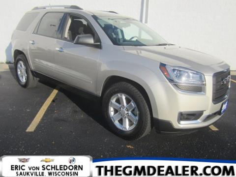 2014 GMC Acadia for sale in Saukville, WI