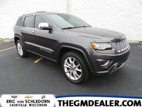 2014 Jeep Grand Cherokee for sale in Saukville, WI