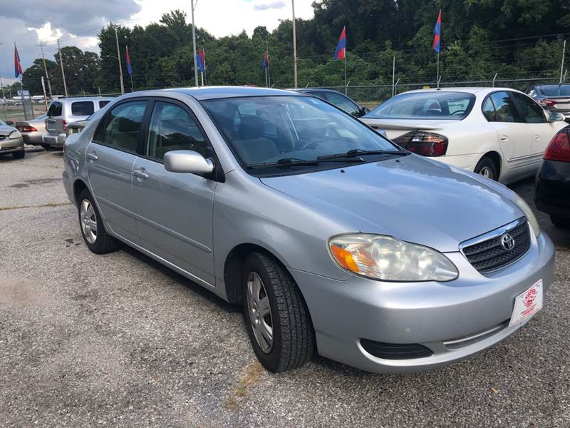 2005 Toyota Corolla For Sale At Super Wheels N Deals In Memphis TN