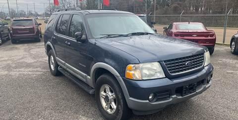 2002 Ford Explorer XLT for sale at Super Wheels-N-Deals in Memphis TN