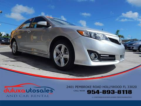 2014 Toyota Camry for sale at Dulux Auto Sales Inc & Car Rental in Hollywood FL