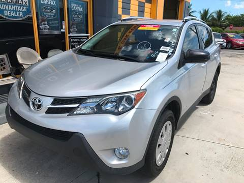 2013 Toyota RAV4 for sale in Hollywood, FL