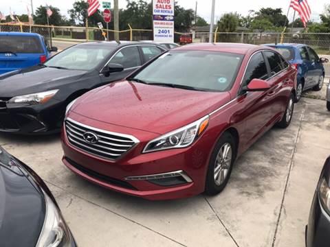 2015 Hyundai Sonata for sale at Dulux Auto Sales Inc & Car Rental in Hollywood FL