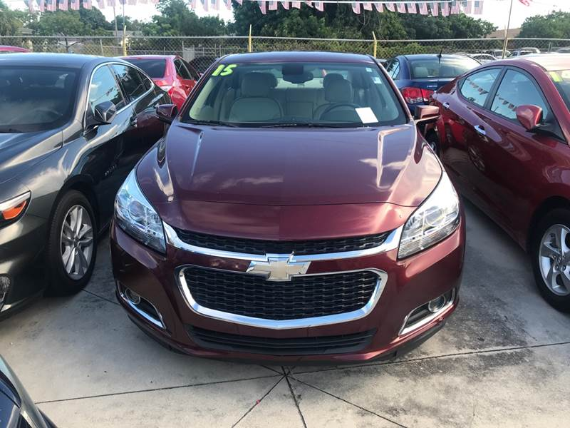 2015 chevrolet malibu lt 4dr sedan w 2lt in hollywood fl. Black Bedroom Furniture Sets. Home Design Ideas