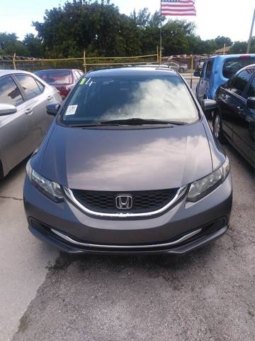 2014 Honda Civic for sale in Hollywood, FL