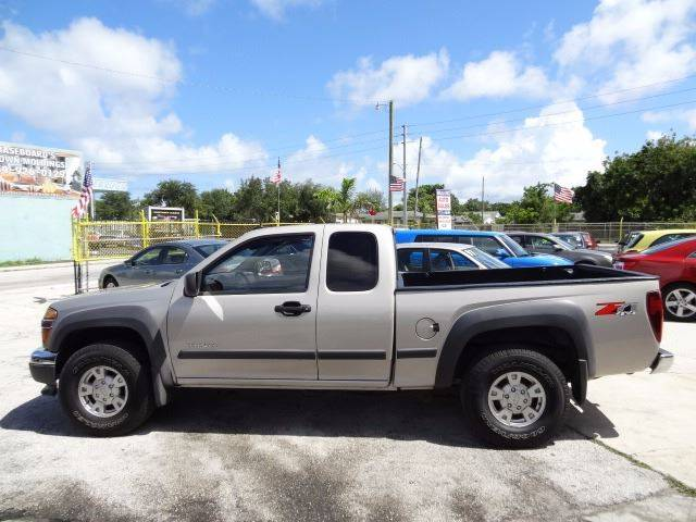 2004 Chevrolet Colorado 4dr Extended Cab Z71 4wd Sb In