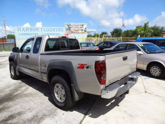 2004 Chevrolet Colorado 4dr Extended Cab Z71 4wd Sb In Hollywood Fl