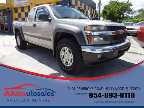 2004 Chevrolet Colorado for sale at Dulux Auto Sales Inc & Car Rental in Hollywood FL