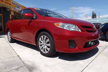 2012 Toyota Corolla for sale at Dulux Auto Sales Inc & Car Rental in Hollywood FL