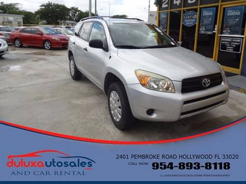 2007 Toyota RAV4 for sale at Dulux Auto Sales Inc & Car Rental in Hollywood FL