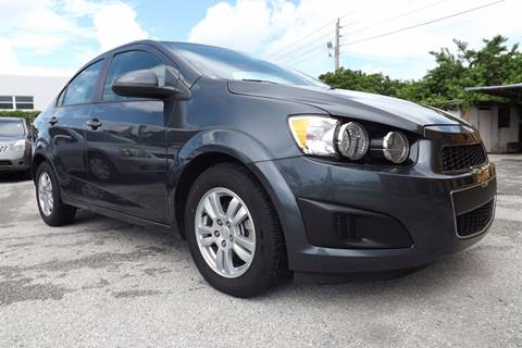 2012 Chevrolet Sonic for sale at Dulux Auto Sales Inc & Car Rental in Hollywood FL