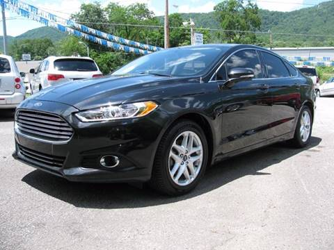 2014 Ford Fusion for sale at Gamble Motor Co in La Follette TN
