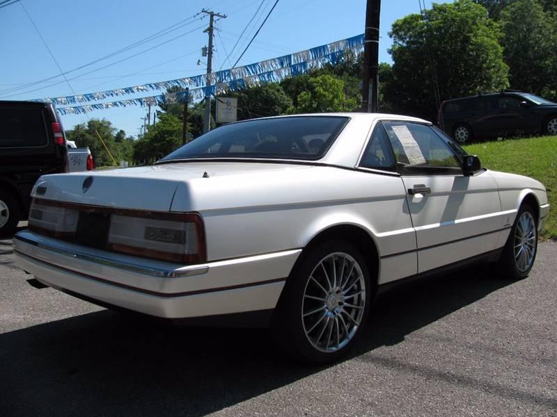 1989 Cadillac Allante 2dr Convertible - La Follette TN