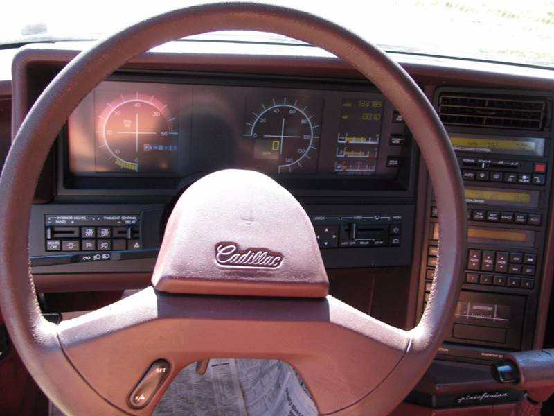 1989 Cadillac Allante 2dr Convertible In La Follette TN - ...