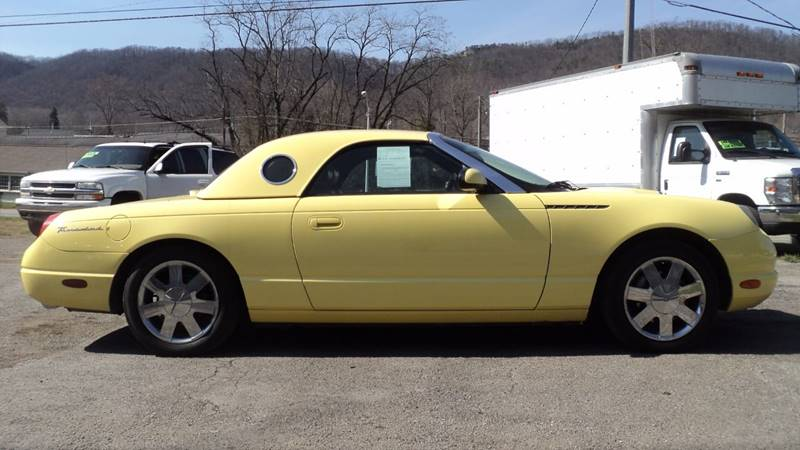 2002 Ford Thunderbird Deluxe 2dr Convertible - La Follette TN