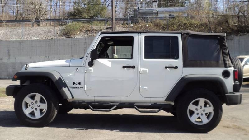 2008 Jeep Wrangler Unlimited 4x4 X 4dr SUV - La Follette TN