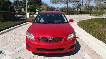 2010 Toyota Corolla for sale in Lutz, FL