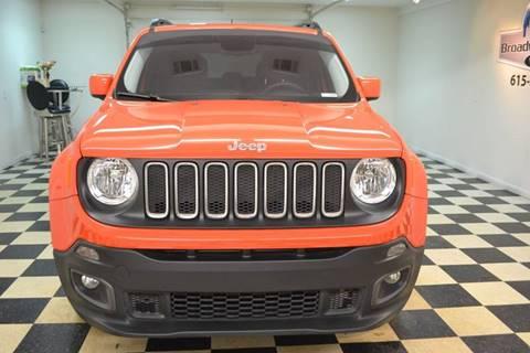 2016 Jeep Renegade for sale in Murfreesboro, TN
