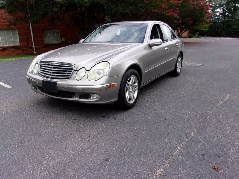 2005 Mercedes-Benz E-Class for sale at TAR HEEL AUTO SALES OF RALEIGH in Raleigh NC